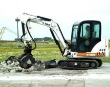 山猫 Bobcat331LongArm 挖掘机
