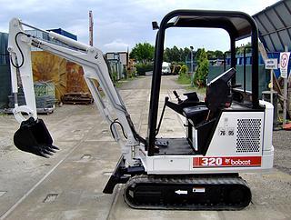 山猫Bobcat320L挖掘机