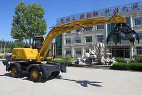 青州神娃 SW-60C抓钢 挖掘机