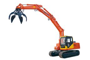 青州神娃 SW-150抓钢 挖掘机