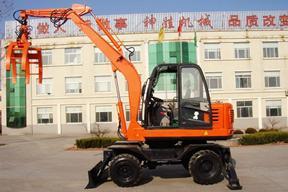 青州神娃 SW-60C抓木 挖掘机