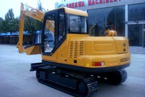青州神娃SWX-60履带卸煤挖掘机