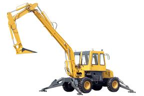 青州神娃 SWX-110卸煤 挖掘机