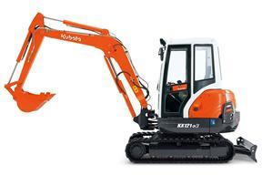 久保田KX121-3S挖掘机