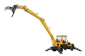 青州神娃 SWZ-85抓草 挖掘机