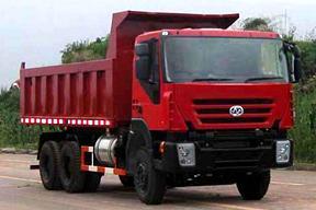 红岩 CQ3254HTG384 非公路自卸车