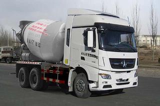 北奔重汽 ND52500GJBZ 搅拌运输车