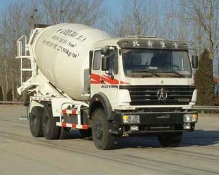 北奔重汽 ND52502GJBZ 搅拌运输车