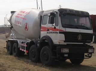北奔重汽ND5312GJBZ搅拌运输车