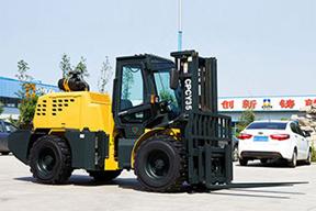 威力天地 CPCY35集装箱装卸专用越野 叉车