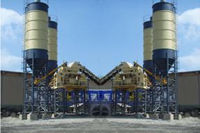 三和建机 HZS180 混凝土搅拌站