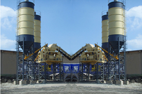 三和建机 HZS90 混凝土搅拌站