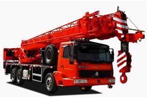 中国重汽 25吨五节臂 起重机