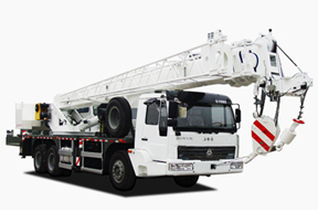 中国重汽 20吨 起重机