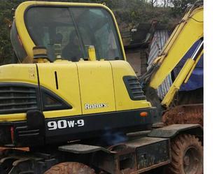 现代R90W-9挖掘机