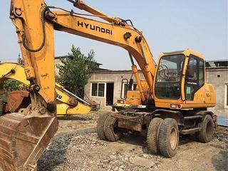 现代 R150W-5 挖掘机图片