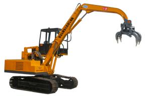 奥力信 履带式条石装卸 挖掘机