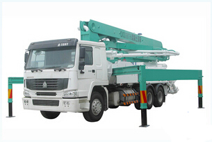 天拓重工 HDT5291THB-39-4 泵车