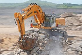 贝尔 R966 挖掘机