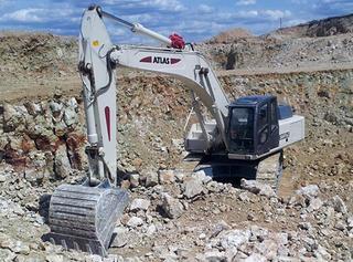 阿特拉斯中国 3607LC 挖掘机