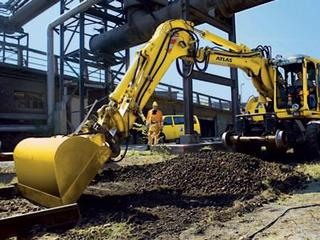 阿特拉斯中国 1604ZW 挖掘机