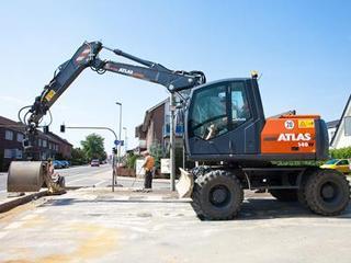 阿特拉斯中国 160W进口机 挖掘机