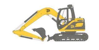 杰西博JS75M挖掘机