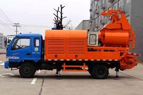 英特机械 HBCS50-10-45EJ-120F搅拌一体 车载泵图片