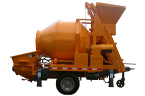 英特机械 JBT30-8-30ES搅拌一体 拖泵图片