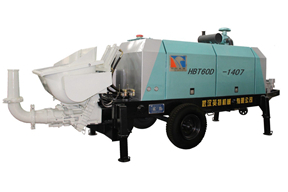 英特机械 HBT60D-1407 拖泵