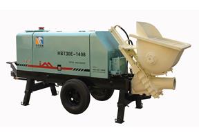 英特机械 HBT30E-1408农村建房专用 拖泵图片