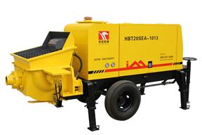 英特机械 HBT20SEA-1013细石混凝土 拖泵图片