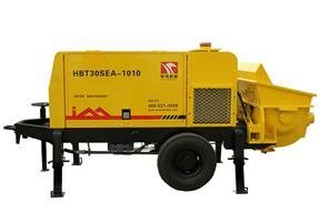 英特机械 HBT30SEA-1010细石混凝土 拖泵图片