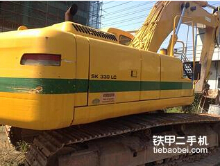 神钢SK330LC-6挖掘机