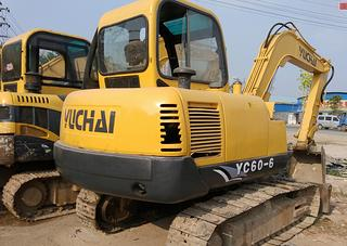 玉柴 YC60-6 挖掘機圖片