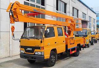 湖北合力专用车 江铃14米高空作业车 高空作业机械