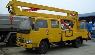 湖北合力专用车 东风小霸王高空作业车 高空作业机械