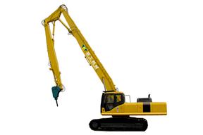 亚工 PC450LC-6 加长臂拆除臂图片