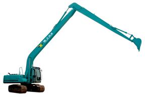 亚工 PC120-6 加长臂拆除臂
