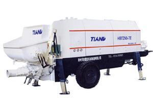 鑫天地重工 HBTS60-7E 拖泵