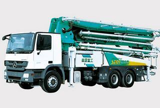 森源重工 SMQ5330THB-46米 泵车
