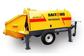 赛通重工 HBTS30-10-45领先型细石混凝土 拖泵