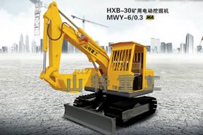 山特重工 HXB-30礦用電動 挖掘機圖片