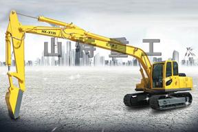 山特重工 HX-X120履带式卸煤 挖掘机