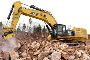 卡特彼勒 390FL 挖掘机
