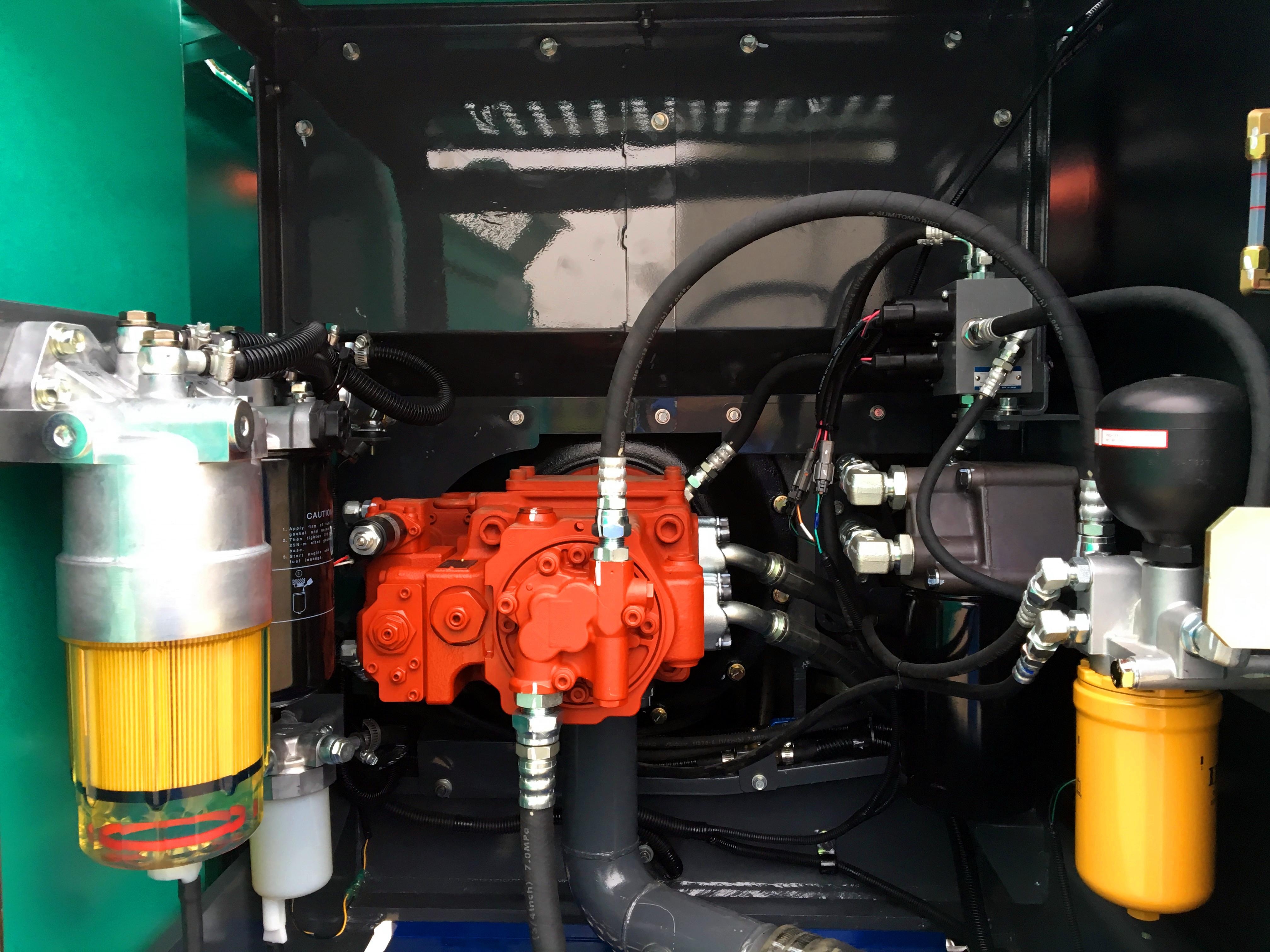 石川岛135NS挖掘机液压系统
