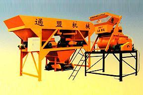 通盟机械 JS750 混凝土搅拌站