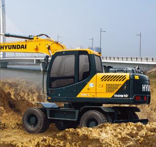 现代150WVS挖掘机