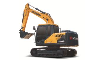 现代110LVS挖掘机