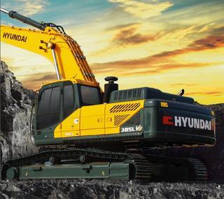 现代355LVS挖掘机